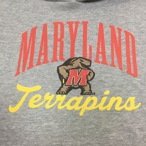 Women's Authentic Maryland Terrapins Hoodie